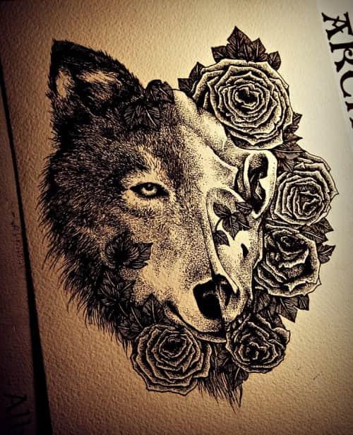 Татуировки волков