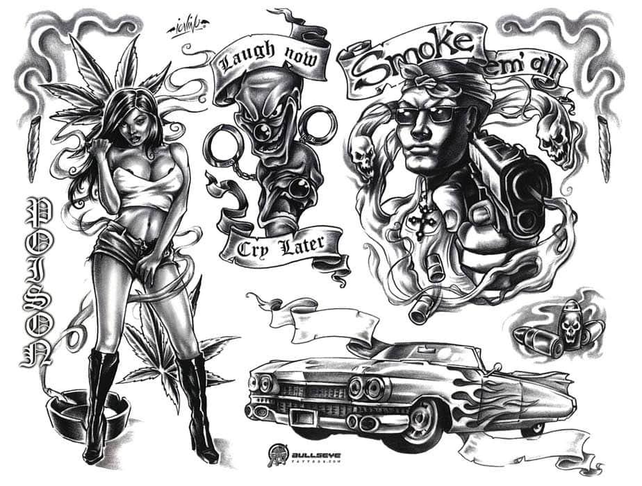Стили татуировок. Все о направлениях и стилях тату на портале 23