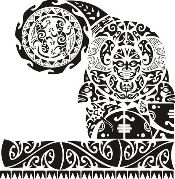 полинезия тату картинки