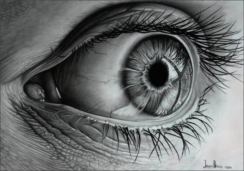 эскизы глаз: