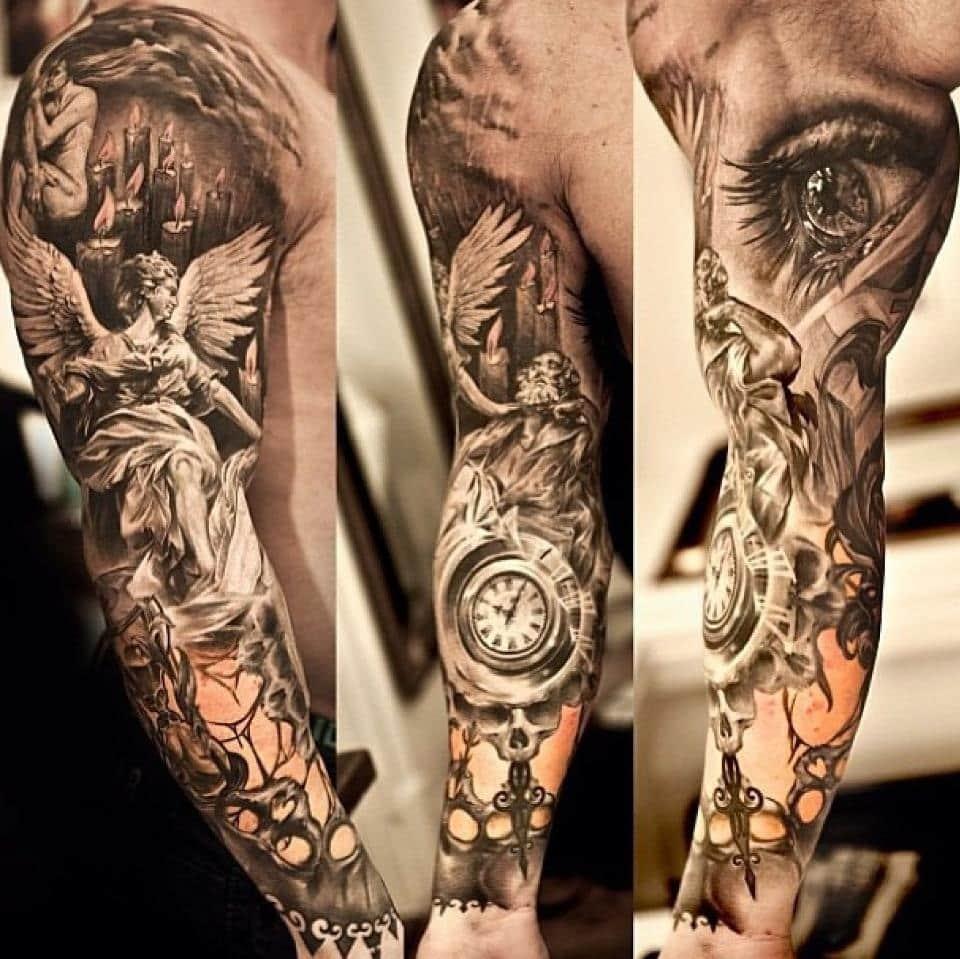 Самые крутые рукава тату
