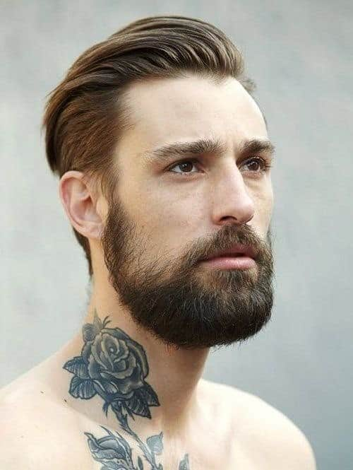 картинки тату на шее мужские
