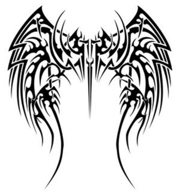 рисунки в стиле тату