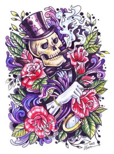 Значение татуировок надписей