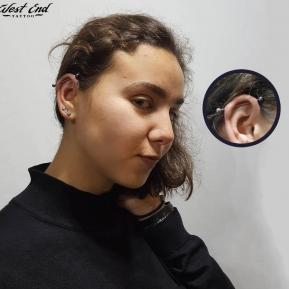 Прокол ушей