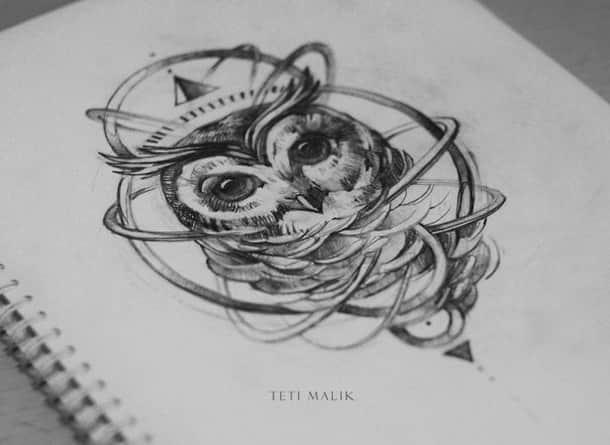 эскизы татуировок на грудной клетке мужские