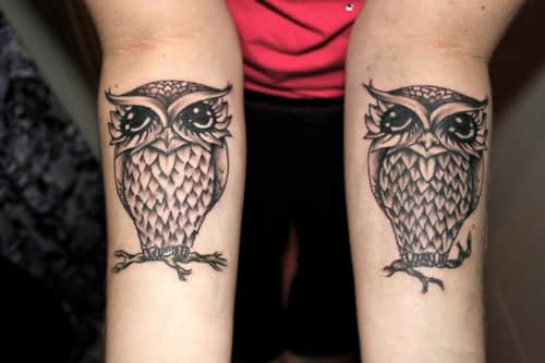 Татуировки крестов 14