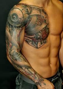 Татуировка-Биомеханика