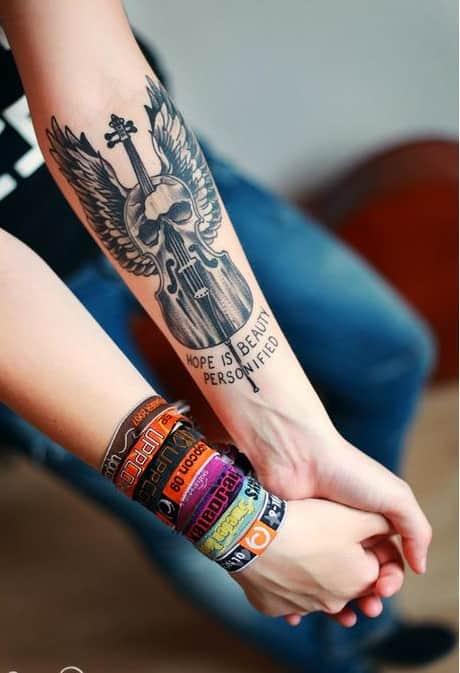 фото татуировки на пледплечье