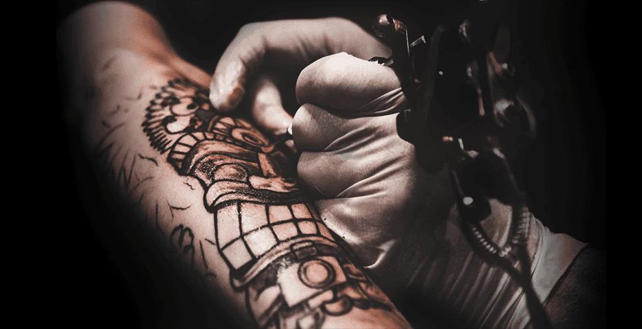 Тату салон — Обучение татуировке