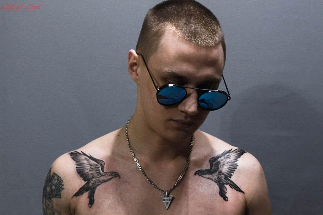 Татуировка две птицы