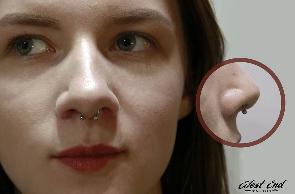 Септум прокол носа